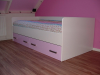 bed roze