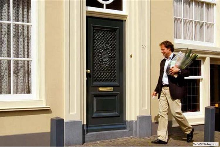 Laat de stijl van uw huis spreken via uw voordeur